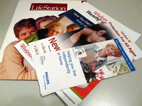 Medical Alert Monitoring Company Brochures
