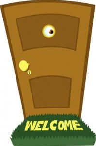 Install a peep hole for home safety