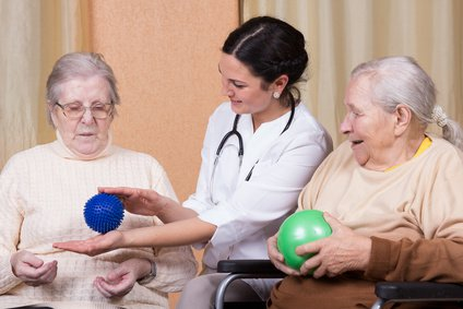 medical alert device security when going through occupational therapy