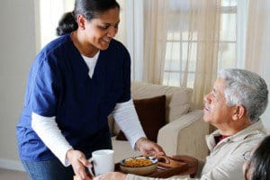 elderly in home or active living care?