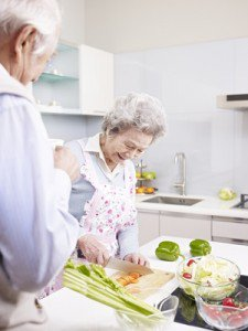 senior health by eating right