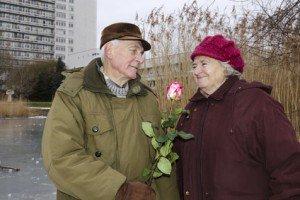 seniors during Valentine's Day