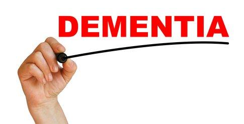dementia signs present in seniors