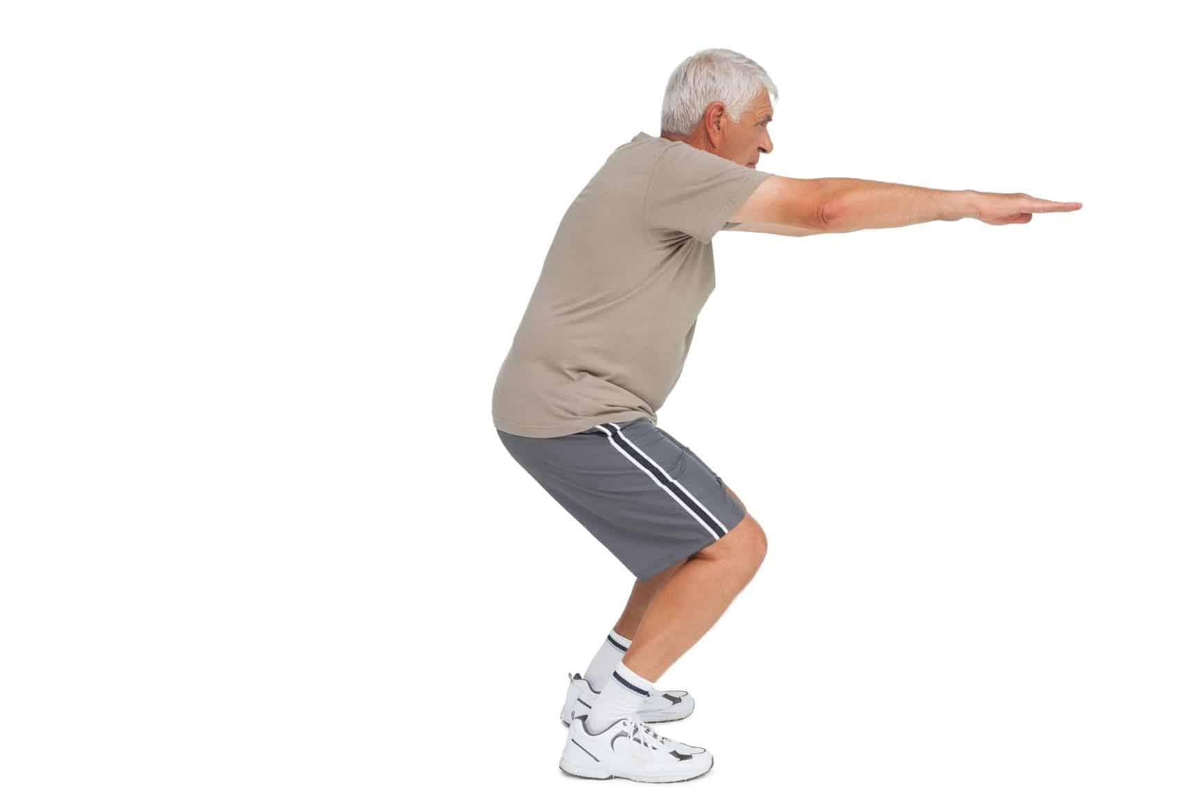 Balancing exercises for seniors