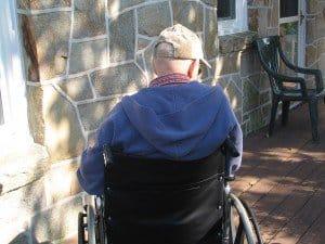 Elderly Wheelchair
