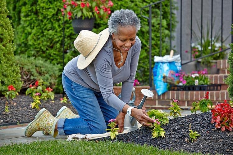 Senior Gardening with Medical Alert